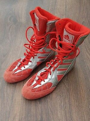 Adidas Tygun Boxing Shoes Boxing Boots Trainers Boys men's UK size 5