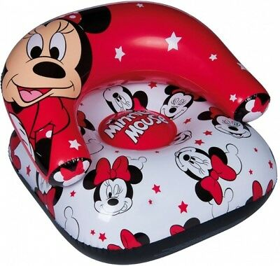 AUFBLASBARER SESSEL MINNIE- Mouse, Sitz, Kinder, Disney
