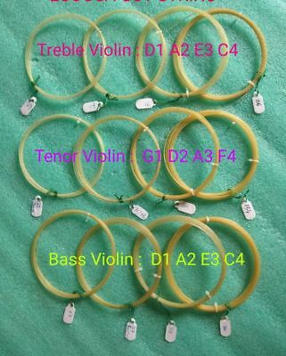 Cello Violin Gut String Treble Tenor Double Bass Viola etc