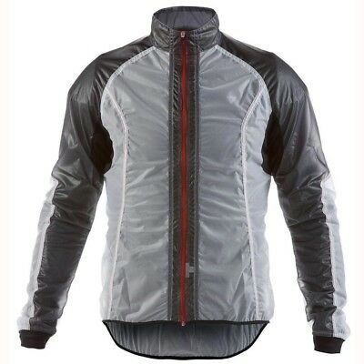 Dainese Wind-Fight Full Zip Jacket Weiß / Schwarz L