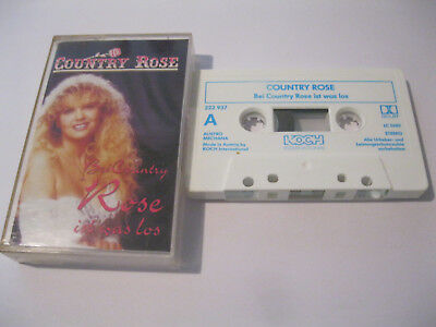 MC Country Rose Bei Country Rose ist was los Musikkassette KOCH 222 937