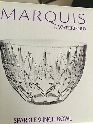 Marquis By Waterford Sparkle 9 Inch Bowl 3999 Picclick