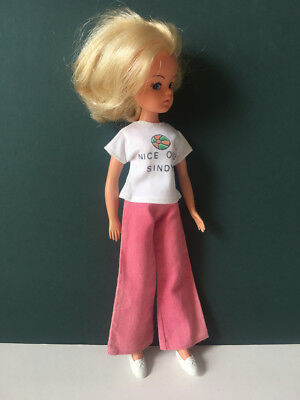 REDUCED Pedigree Sindy doll 70s 1977 Mix Match set clothes outfit SHIMMYSHIM