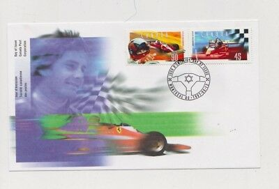 Canada First Day Cover - 45 90 Cent Stamp 1997 - GILLES VILLENEUVE F1 Racing