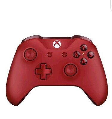 Microsoft Xbox One Wireless Bluetooth Controller Red