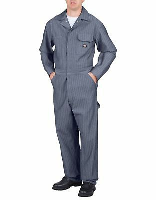 Dickies Men's Fisher Stripe Long Sleeve Cotton Coveralls 48977FS