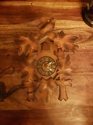 BLACK FOREST   CUCKOO CLOCK /Not working .spares or  repair