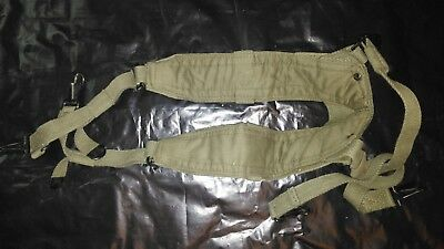 od green military m1 garand NOS wwII ammo canvas upper belt pouch clip unit