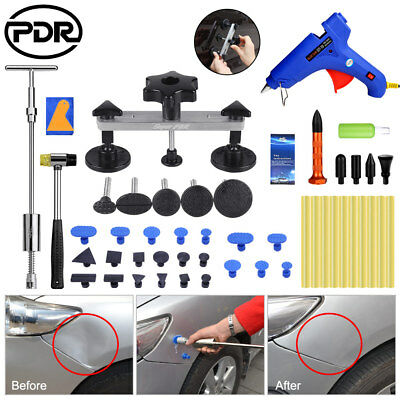 53× PDR Tools Paintless Dent Hail Removal Repair Slide Hammer Puller Body Dents