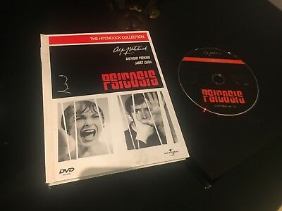 Psicosis Dvd + Libro  Anthony Perkins Janet Leigh Alfred Hitchcock Collection