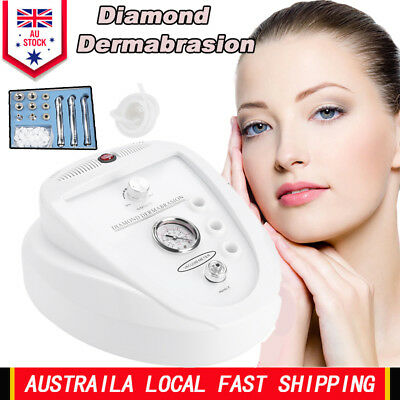 3 in 1 Diamond Dermabrasion Microdermabrasion System Simple Operate Machine AU
