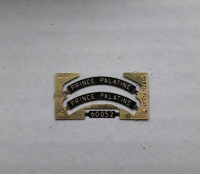 00 Gauge nameplate:60082 /'Neil Gow/' LNER A3 suit Hornby 4mm