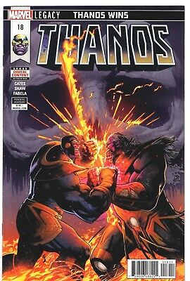 THANOS #18 Donny Cates Last Issue Ghost Rider Marvel Comics Presale NM 4/11/2018