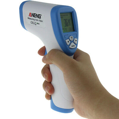 ANENG AN201 Digital Infrared Baby Thermometer Adult Non-Contact Forehead Temper