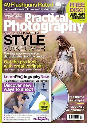 Practical Photography Magazine September 2016 With Free Disc ~ New ~