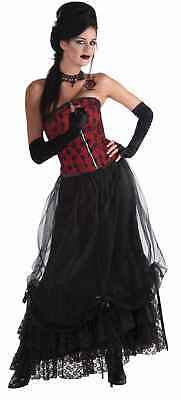 Midnight Gathering Black Costume Skirt One Size Fits Most One Size