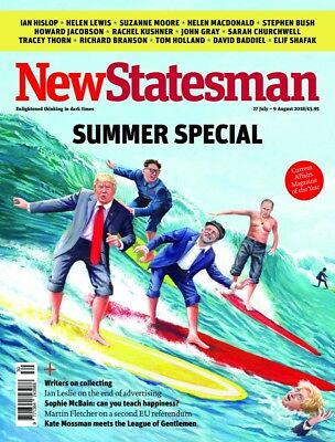 New Statesman Magazine July / August 2018 Summer Special ~ New ~