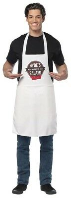Dirty Deli Salami Apron Costume Adult One Size Fits Most