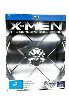 X-MEN The CEREBRO Complete Collection - Blu-Ray -7-Disc -BRAND NEW SEALED - AUS