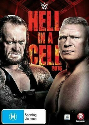 WWE Hell In A Cell 2015 DVD R4 Region 4 Brand New