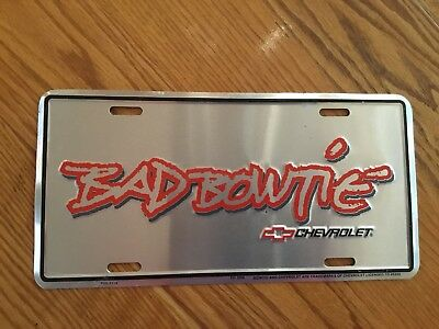 Bad Bowtie Front License Plate