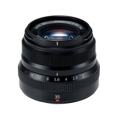 Fujifilm Fujinon XF35mm F2 R WR Black Camera Lens