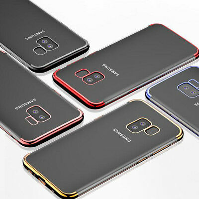 For Samsung Galaxy J6 J4 2018 Luxury Hybrid Slim Shockproof Plating Case Cover