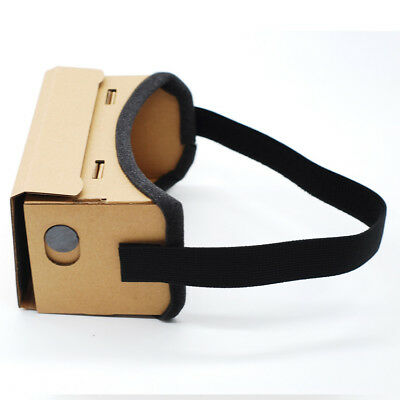Cardboard VR Experience 3D Glasses Virtual Reality Headset Glasses For 4.7-5.5i