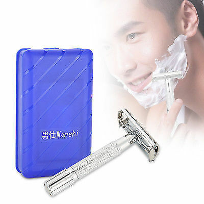 Men's Traditional Classic Double Edge Shaving Safety Razor Beard Shaver Tool ML