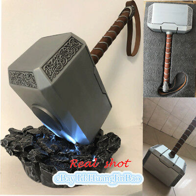 1/1 Thor's Hammer Full Metal Cosplay Prop Led Light Thor Odinson 4KG Collection