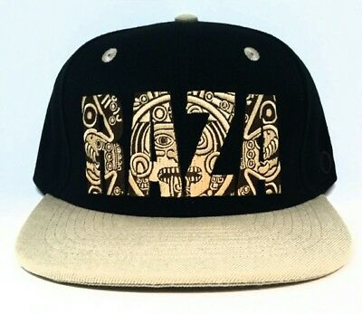 511a45c2ee1 MENS CHICANO LOWRIDER Black Hat Aztec Bird Custom Design snapback ...