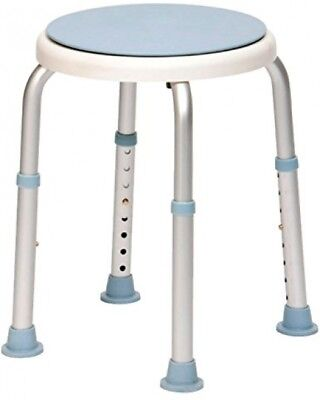 Rotating Rounded Bath/Shower Stool with Swivel Seat-12132