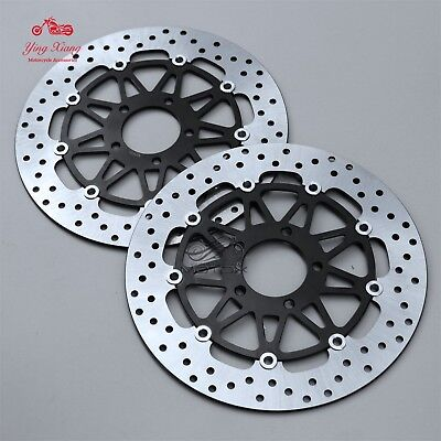 Floating Front Brake Disc Rotor Fit For Suzuki GSXR600/750 97-03 GSX-R1000 01-02