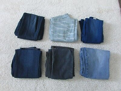 BULK SALE Mens Jeans All Size 34 L32 - Six Pairs - Guess, Street, Hny...