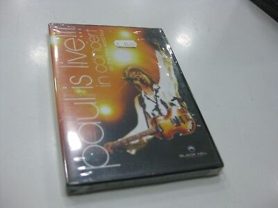 Paul Mccartney Dvd Is Live  In Concert On The New World Tour