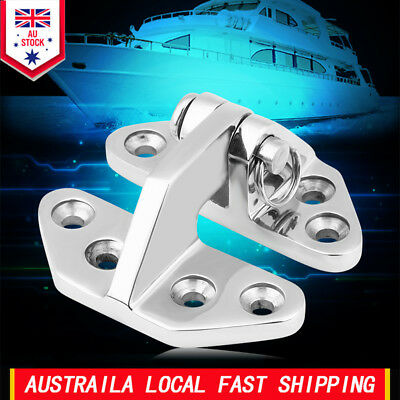 316 Stainless Steel Marine Boat Hatch Hinge Removable Pin Hardware Polished AU