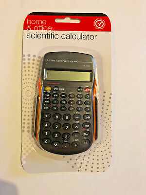 SCIENTIFIC CALCULATOR 56 functions home & office 10 digit new sealed orange