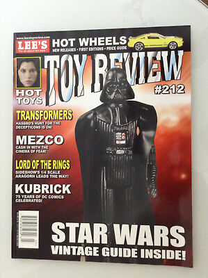 Lee's Action Figure News & Toy Review#212 Star Wars Vintage Guide Kubrick Lotr 3