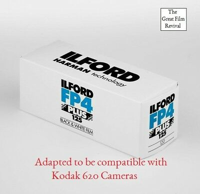 Ilford FP4+ 120film adaptedto Kodak 620 for Brownie, Lomography, Photography.