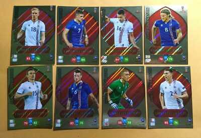 Panini Adrenalyn XL World Cup Russia 2018 Iceland Limited Edition Set Lot 08 LE