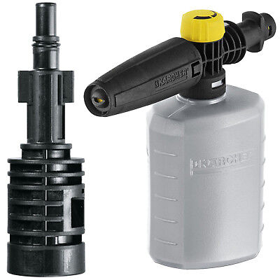 KARCHER Snow Foam Bottle + Adapter for BOSCH AQT 35-12 37-13 Pressure Washer