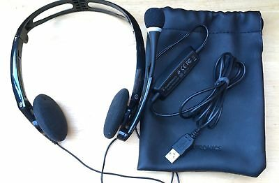 how to connect plantronics headset to laptop
