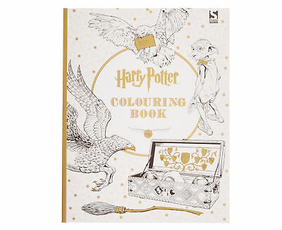Brand New Harry Potter Colouring Book 1 by Warner Brothers Paperback
