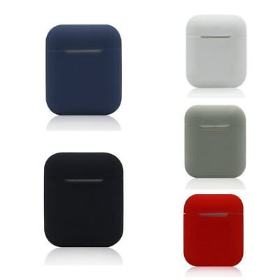 Silicone Case Cover Earphone Storage Protector Box For iPhone 7 AirPods PM