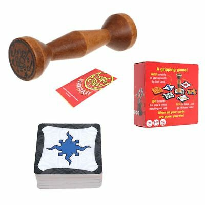 Set of Token jungle speed Board Game for Party Family Kids Fun Gripping Cards