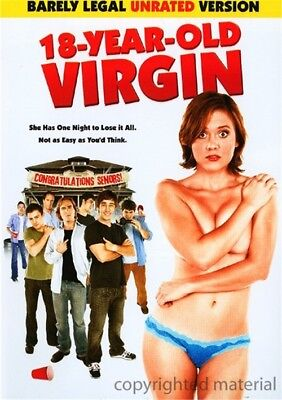 "18 Year Old Virgin (DVD, 2009, ""Barely Legal"" Unrated Version) Olivia Alaina May"