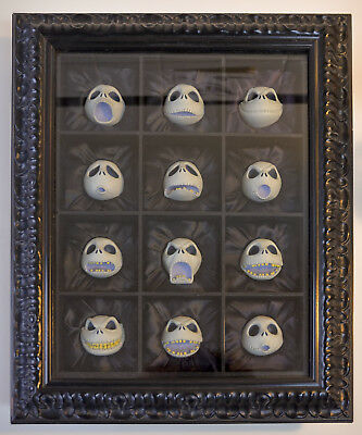 """Twelve Faces Of Jack"", Signed and Numbered By Tim Burton"