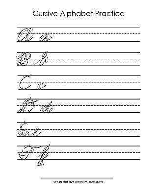 Learn to Write in Cursive Dry Erase Set (3rd, 4th, 5th Grade Penmanship)