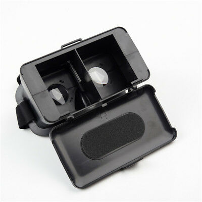 NJ Head Mount Virtual Reality 3D Video Glass Cardboard For Cell Phone