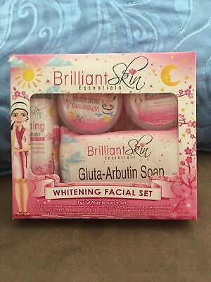 New Look And Guaranteed Authentic Brilliant Skin Whitening Facial Set